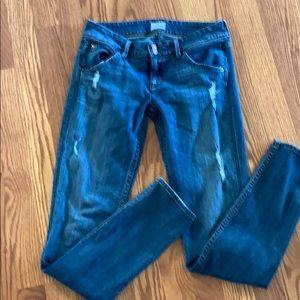 Hudson jeans made in USA distressed size 26